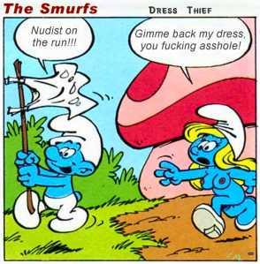 Smurfs - Dress Thief
